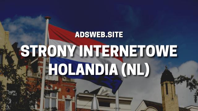 strony internetowe Holandia - strony www, sklepy, serwisy Niderlandy
